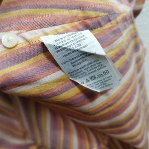 Madewell Tops - Madewell Central Drapey Rainbow Stripe